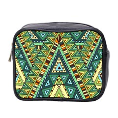 Native Ornament Mini Toiletries Bag (two Sides) by goljakoff