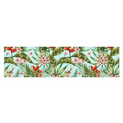 Tropical Flowers Satin Scarf (oblong) by goljakoff