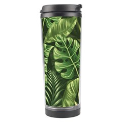 Green Leaves Travel Tumbler by goljakoff