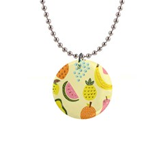 Fruit 1  Button Necklace