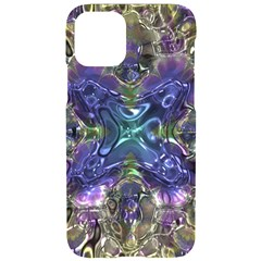 Metallizer Factory Glass Iphone 11 Pro Black Uv Print Case by Mariart