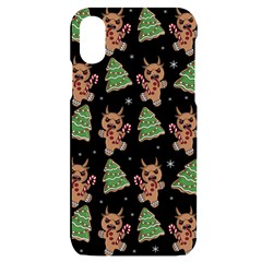 Gingerbread Krampus Iphone X/xs Black Uv Print Case