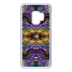 Fractal Illusion Samsung Galaxy S9 Seamless Case(white)