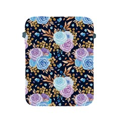 Rose Flower Pattern Apple Ipad 2/3/4 Protective Soft Cases by designsbymallika