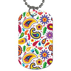 Baatik Print Dog Tag (two Sides)