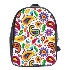 Baatik Print School Bag (large)