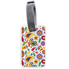 Baatik Print Luggage Tag (one Side)