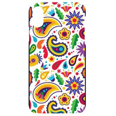 Baatik Print Iphone Xr Black Uv Print Case