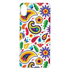Baatik Print Iphone X/xs Soft Bumper Uv Case