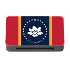 Flag Of Mississippi Memory Card Reader With Cf