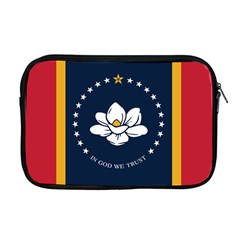 Flag Of Mississippi Apple Macbook Pro 17  Zipper Case