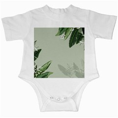 Banana Pattern Plant Infant Creepers