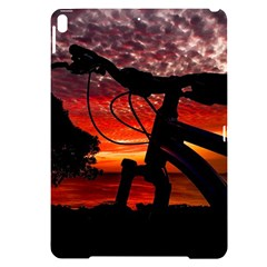 Mountain Bike Parked At Waterfront Park003 Apple Ipad Pro 10 5   Black Uv Print Case