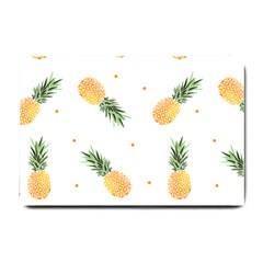 Pineapple Pattern Small Doormat  by goljakoff