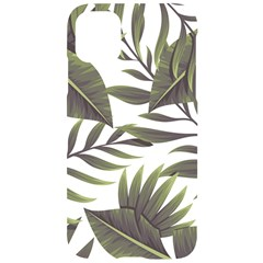 Tropical Leaves Iphone 11 Black Uv Print Case by goljakoff