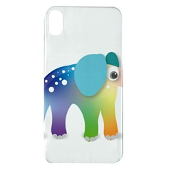 Illustrations Elephant Colorful Pachyderm Apple Iphone Xr Tpu Uv Case