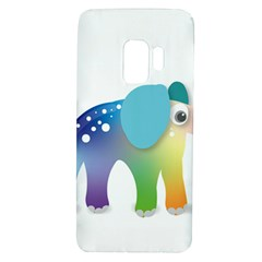 Illustrations Elephant Colorful Pachyderm Samsung Galaxy S9 Tpu Uv Case by HermanTelo