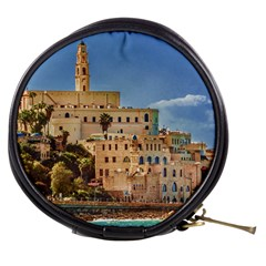 Old Jaffa Cityscape, Israel Mini Makeup Bag