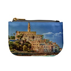 Old Jaffa Cityscape, Israel Mini Coin Purse