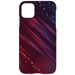Illustrations Space Purple Iphone 11 Black Uv Print Case by Alisyart
