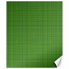 Green Knitting Canvas 8  X 10  by goljakoff