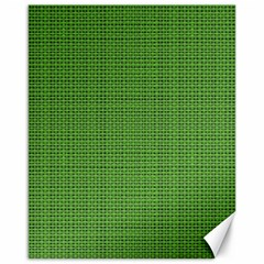 Green Knitting Canvas 16  X 20  by goljakoff
