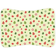 Cute Christmas Pattern Velour Seat Head Rest Cushion