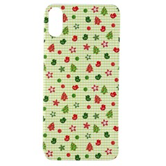 Cute Christmas Pattern Apple Iphone Xs Tpu Uv Case