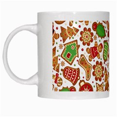 Christmas Love 6 White Mugs