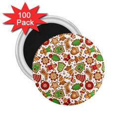 Christmas Love 6 2 25  Magnets (100 Pack)