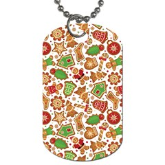Christmas Love 6 Dog Tag (one Side)