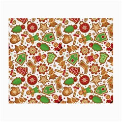 Christmas Love 6 Small Glasses Cloth