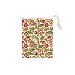 Christmas Love 6 Drawstring Pouch (xs)
