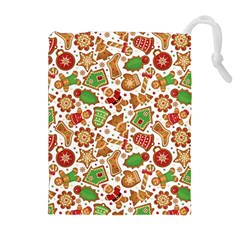 Christmas Love 6 Drawstring Pouch (xl)
