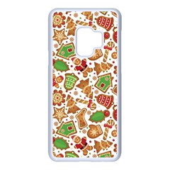 Christmas Love 6 Samsung Galaxy S9 Seamless Case(white)