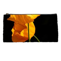 Yellow Poppies Pencil Case by Audy
