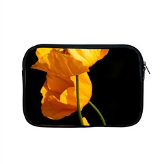 Yellow Poppies Apple Macbook Pro 15  Zipper Case by Audy