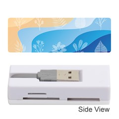 Flower Branch Corolla Wreath Lease Memory Card Reader (stick)