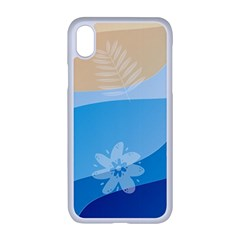 Flower Branch Corolla Wreath Lease Iphone Xr Seamless Case (white)