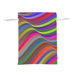 Psychedelic Surreal Background Lightweight Drawstring Pouch (m)