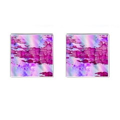 Background Crack Art Abstract Cufflinks (square)