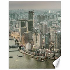 Lujiazui District Aerial View, Shanghai China Canvas 18  X 24