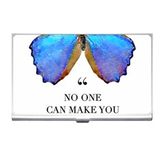 Inferior Quote Butterfly Business Card Holder by SheGetsCreative