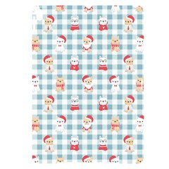 Checks Pattern With Christmas Animals Apple Ipad Pro 10 5   Black Uv Print Case by designsbymallika