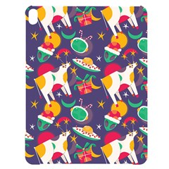 Space Christmas 2 Apple Ipad Pro 12 9   Black Uv Print Case by designsbymallika