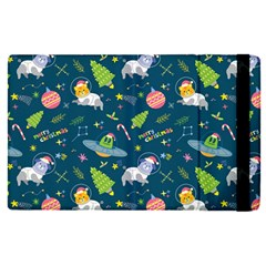 Space Christmas Space Christmas Apple Ipad Pro 12 9   Flip Case