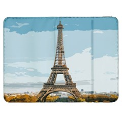 The Eiffel Tower  Samsung Galaxy Tab 7  P1000 Flip Case by ArtsyWishy