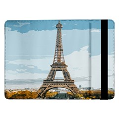 The Eiffel Tower  Samsung Galaxy Tab Pro 12 2  Flip Case by ArtsyWishy