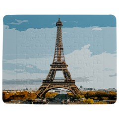 The Eiffel Tower  Jigsaw Puzzle Photo Stand (rectangular) by ArtsyWishy