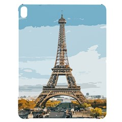 The Eiffel Tower  Apple Ipad Pro 12 9   Black Uv Print Case by ArtsyWishy